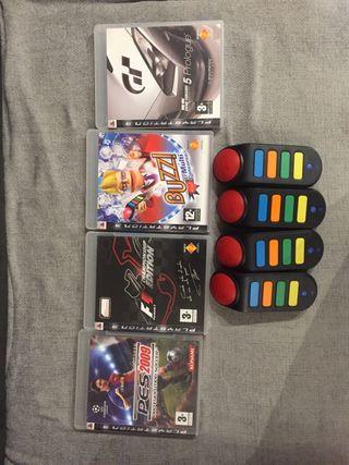 4 videojuegos PS3