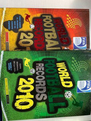 Libros World Football Records 2010 y 2011