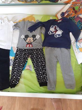 ropa de 2 a 3 años