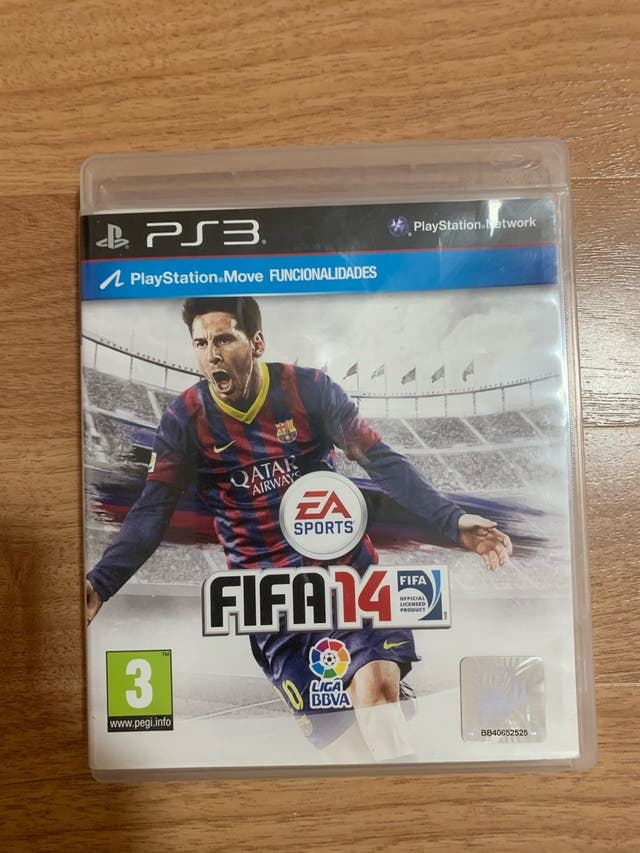 JUEGO FIFA 14 PS3