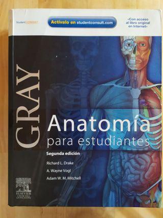 Libro Anatomía de Gray para estudiantes 2ª edicion