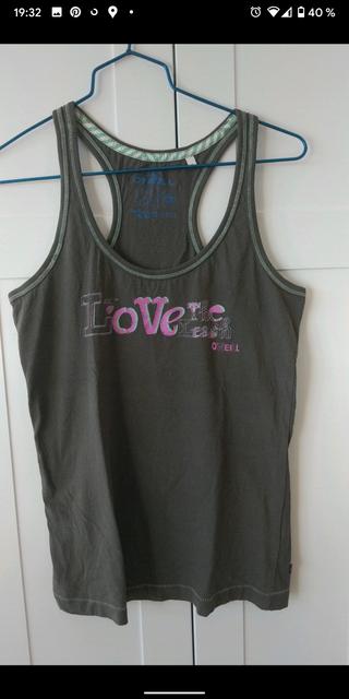 Camiseta sin mangas surfera O'Neill. Talla S
