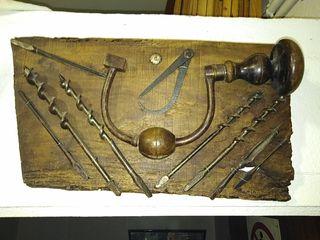 Cuadro de herramientas de carpintería