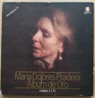 Disco de Vinilo María Dolores Pradera Álbum de Oro
