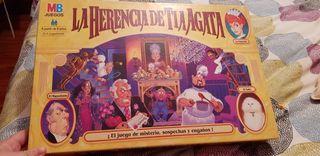 juego de mesa la herencia de tía agata