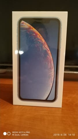 iPhone xr 64Gb azul precintado