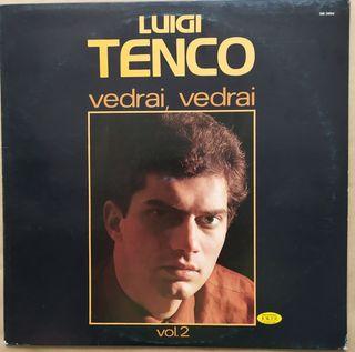Disco de Vinilo Luigi Tenco Vedrai