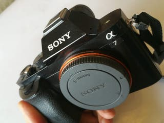 Cámara fotografía Sony A7 full frame sin espejo