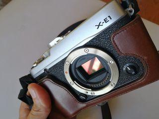 Cámara fotografía Fujifilm X-E1