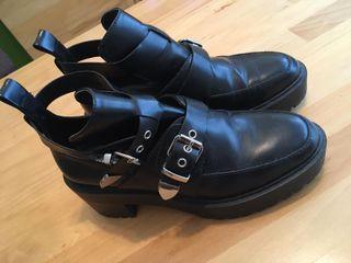 Botines mujer botas zapatos. zara