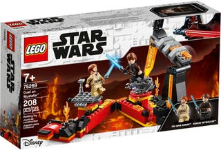 LEGO 75269 Duel on Mustafar + 75148 Encounter...