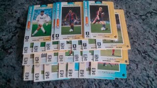 24 Cromos Fútbol 94-95 Magic-Car Matutano.