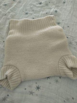 Cobertor de lana para pañales de tela