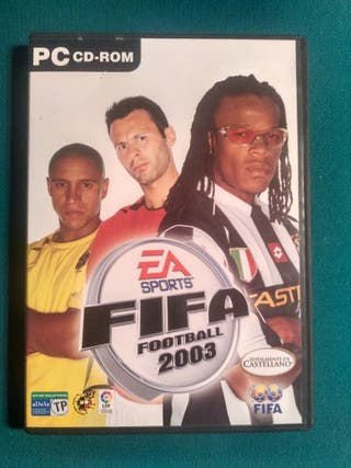 "Juego ""Fifa 2003"" para PC"