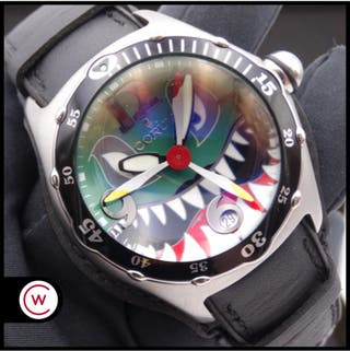 CORUM Bubble Dive Bomber Flying Shark NUEVO