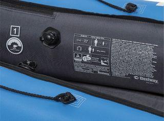 Kayak con funda de nylon hinchable mistral