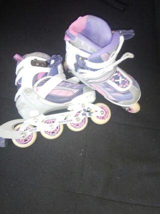 patines en linea talla 31 32 33 y 34