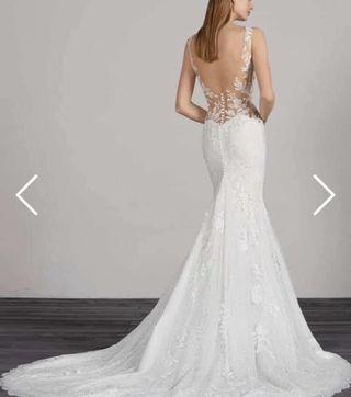 Vestido de novia pronovias .