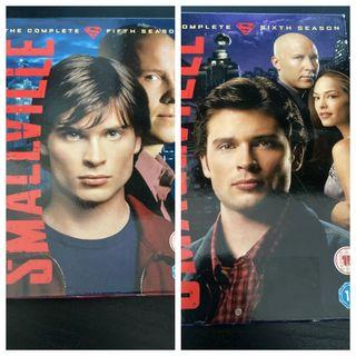 Smallville 5 & 6 boxsets
