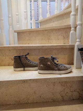 Zapato estilo Converse