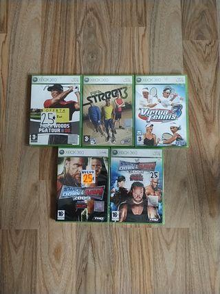 Juegos Xbox 360 nuevos a estrenar precintados