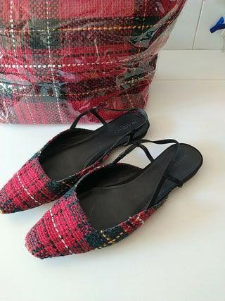 Conjunto bolso + zapatos MANGO N 41