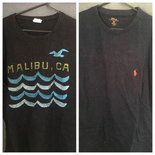 Ralph Lauren & hollister T-shirts