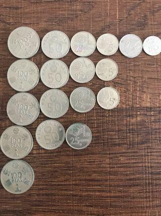 Colección moneda Mundial 82
