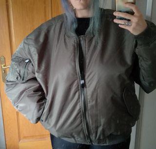 Bomber verde xxxl chaqueta