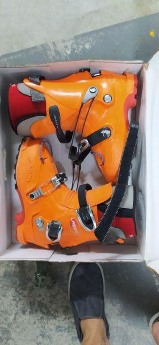 botas esquí de montaña scarpa laser 43/43.5
