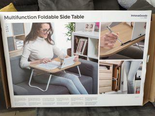 mesa auxiliar plegable multifunción
