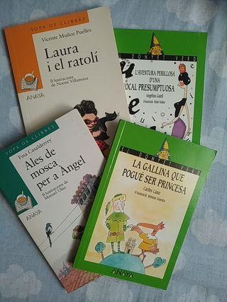 Libros de lectura para niños en valenciano