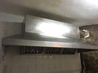 Campana cocina 2,5 metros largo