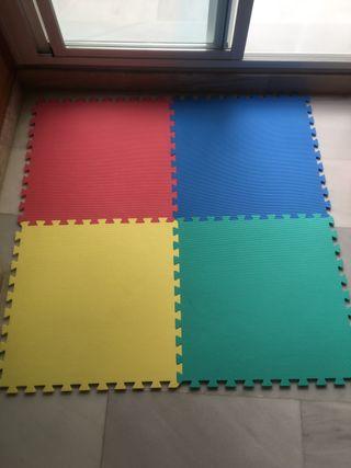 Suelo puzzle tatami
