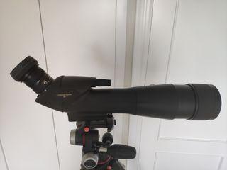 Telescopio Nikon+ocular+funda+trípode Manfrotto