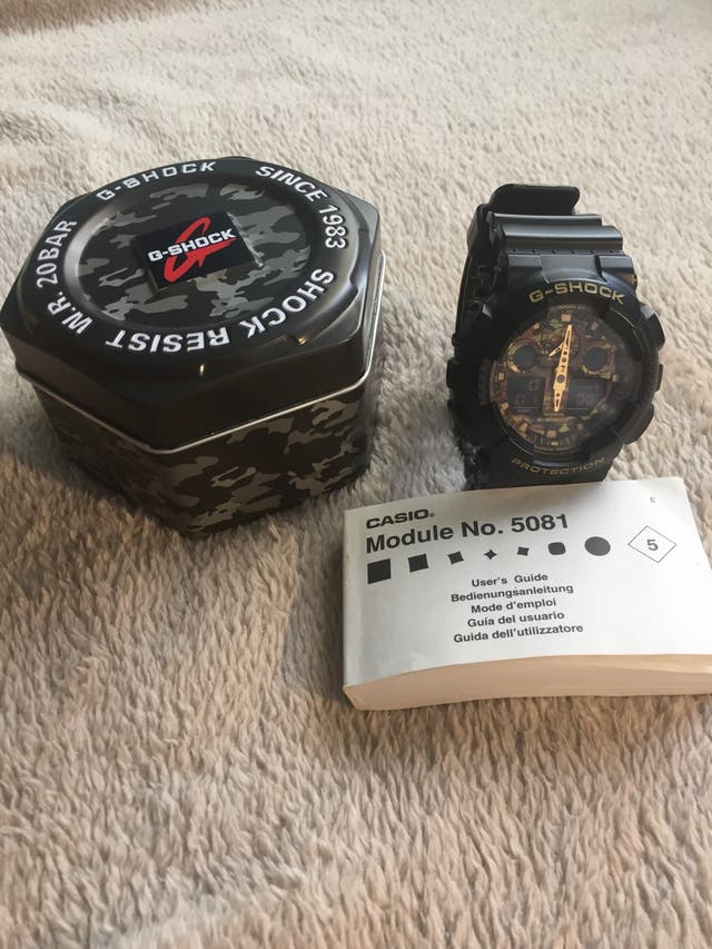 Reloj Casio G-shock original