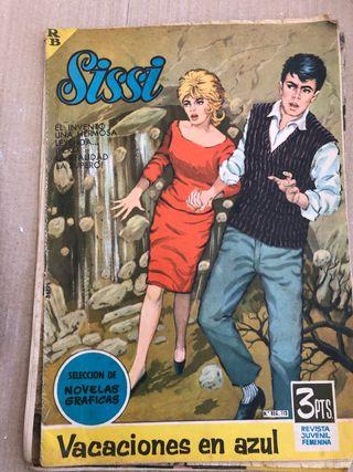 Revista comic Sissi antiguos pack 50ud