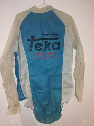 Chubasquero ciclista Teka original