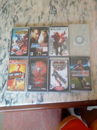Juegos para la PSP