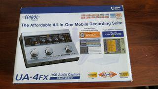 interfaz de audio USB roland