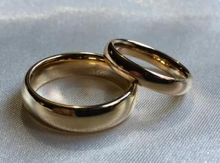 Aros de boda matrimonio