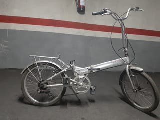 Bicicleta Monty F19 Logick plegable.Urbana.Ciudad
