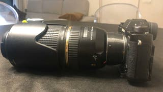 Adaptador objetivos Sony A a Fujifilm X