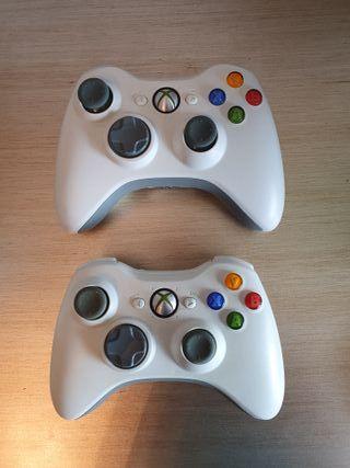 Vendo dos mandos de la Xbox 360