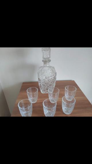 conjunto de cristal