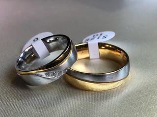 Aros de matrimonio de lujo - PAREJA
