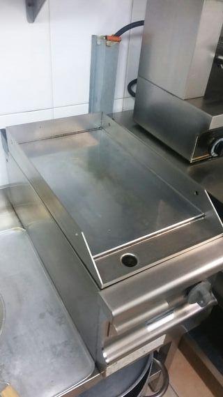 Plancha Cromo Gas