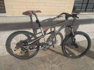 bicicleta doble suspension Lapierre Zesty 314