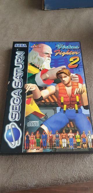 Virtua fighter 2 Sega saturn