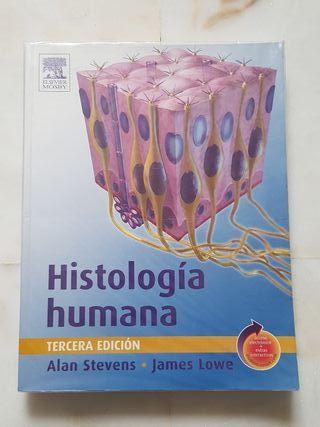 Histología humana. Libro medicina